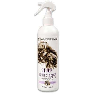 #1 All systems 3D Volumizing spray- спрей для увеличения объема шерсти