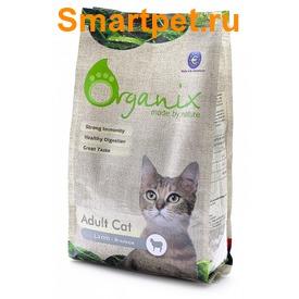 Organix Гипоаллергенный корм для кошек с ягненком (Adult Cat Lamb)