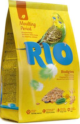 Рио Корм для волнистых попугаев во время линьки
