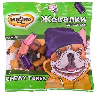 Мнямс Лакомство для собак Жевалки CHEWY TUBES с курицей (фото)