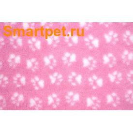 ProFleece Коврик меховой розовый/белый