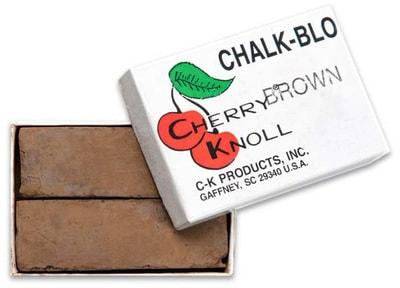 Cherry Knoll Мелок для подкраса шерсти животных, коричневый, 2шт (фото)