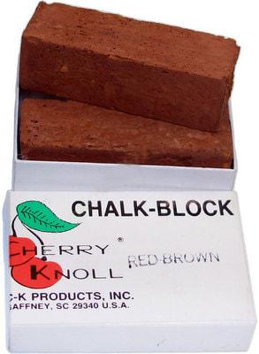 Cherry Knoll Мелок для подкраса шерсти животных, красно-коричневый, 2шт