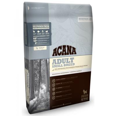 Acana Heritage Adult Small Breed сухой корм для собак мелких пород (фото)