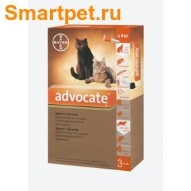 Bayer Адвокат антипаразитарный препарат для кошек до 4кг