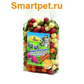JR Farm Лакомство для грызунов Шарики из овощей и люцерны