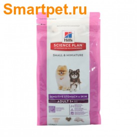 HILL'S Сухой корм для собак миниатюрных пород с чувствительным пищеварением Курица