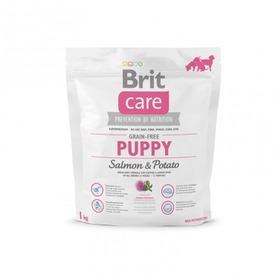 Brit Care Puppy Salmon + Potato корм беззерновой для щенков всех пород Лосось с картофелем