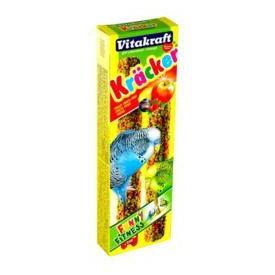 Vitakraft Крекеры для волнистых попугаев фруктовые