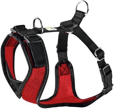 Hunter Шлейка для собак Manoa XS (35-41 см) нейлон/сетчатый текстиль (фото)
