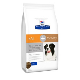 HILL'S Canine K/D+Mobility лечение заболеваний почек + суставы