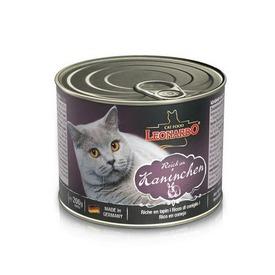 Leonardo Консервы для кошек с кроликом