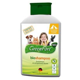 Green Fort БиоШампунь от эктопаразитов для кошек, кроликов и собак