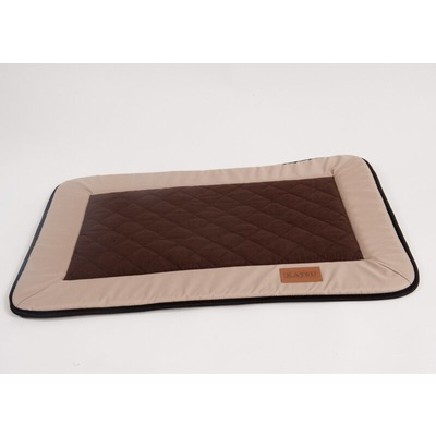 Katsu Лежак - матрасик для собак Plaska бежево-коричневый
