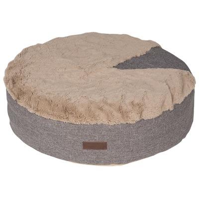 Lion Лежанка пухлик для собак Релакс коричневая (фото)