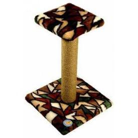 Зооник Когтеточка-столб с полочкой (фото)