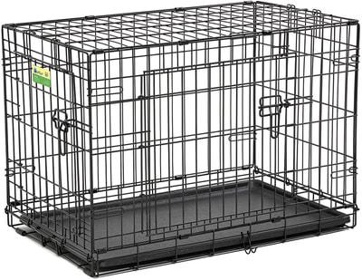 """MidWest Клетка для собак и кошек Contour с двумя дверьми 30"""" (фото)"""