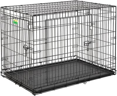 """MidWest Клетка для больших собак Contour с двумя дверьми 42"""" (фото)"""