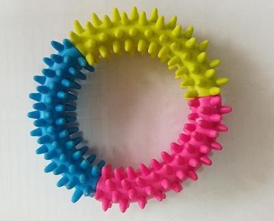 Антицарапки Игрушка для щенков Кольцо с шипами