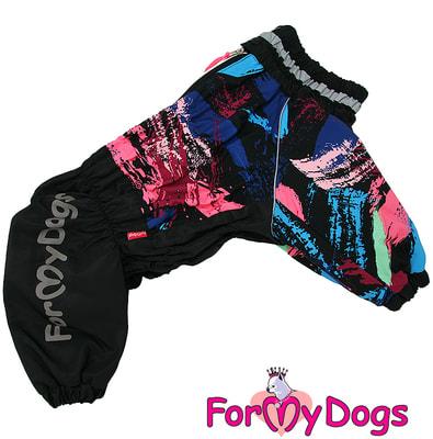 ForMyDogs Комбинезон для больших собак Черный на мальчика (фото)