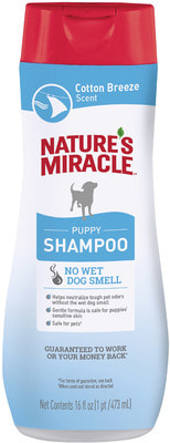 Nature's miracle Шампунь для щенков с контролем запаха