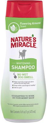 Nature's miracle Шампунь Whitening Odor Control для белых собак с контролем запаха