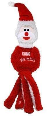 Kong Holiday игрушка для собак Вубба Санта (фото)