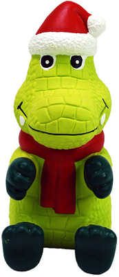 Kong Holiday игрушка для собак Вигги Санта Аллигатор (фото)