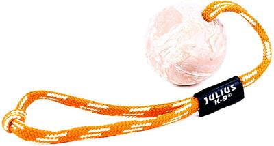 JULIUS-K9 Игрушка для собак Мяч с ручкой, резина (фото)
