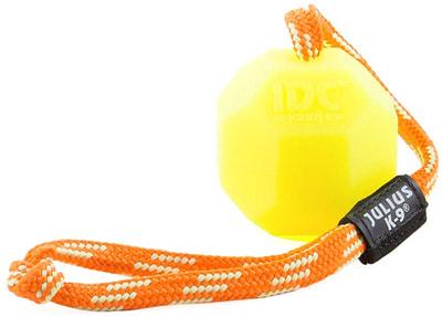 JULIUS-K9 Игрушка для собак Мяч с ручкой, флуоресцентный, силикон (фото)