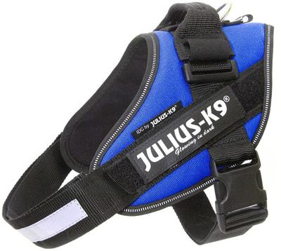 JULIUS-K9 Шлейка для собак IDC®-Powerharness, синий (фото)