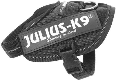 JULIUS-K9 Шлейка для собак IDC®-Powerharness, черный (фото)