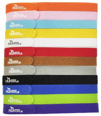 Hunter Ошейники для щенков, 12 шт, цвета в ассортименте (фото)