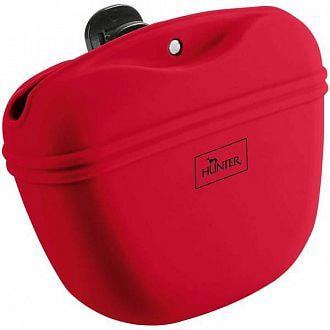 Hunter Сумочка для лакомств силиконовая красная (фото)