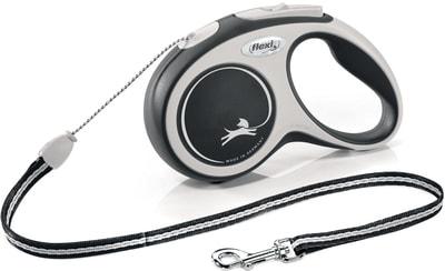 Поводок-рулетка flexi NEW LINE Comfort L (до 60 кг) лента 5м (фото)