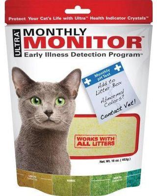 Neon Litter Monthly Monitor индикатор PH мочи для кошек