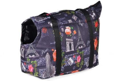 4 My Pets Сумка переноска с отверстием для головы Париж (фото)