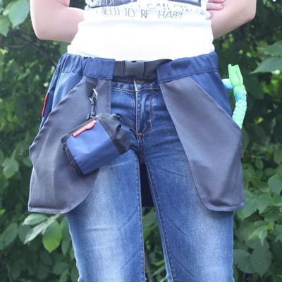 OSSO Сумка-юбка дрессировщика с карманами для лакомства, игрушек, фризби (фото)