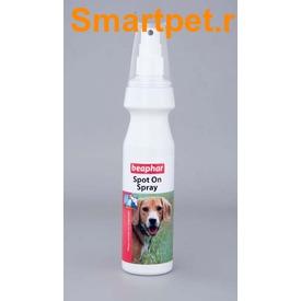 BEAPHAR Bio Spot On Spray For Dogs - Биоспрей от блох и клещей для собак (фото)