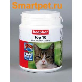 BEAPHAR Top 10 For Cats - Пищевая добавка для кошек, с таурином