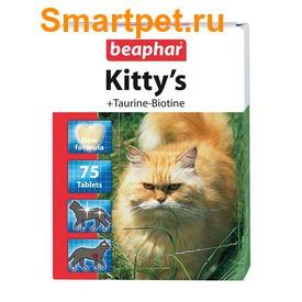 BEAPHAR Kitty's + Taurin + Biotin - витамины с биотином и таурином (фото)