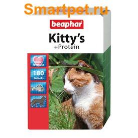 BEAPHAR Kitty's + Protein - витамины в виде лакомства с протеином (фото)