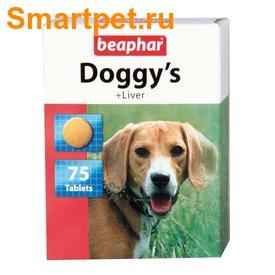 BEAPHAR Doggy's + Liver - витамины в виде лакомства со вкусом печени