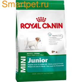 Royal Canin Корм для щенков мелких пород - Mini Junior