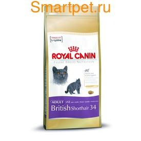 Royal Canin Корм для британской короткошерстной. British Shorthair 34