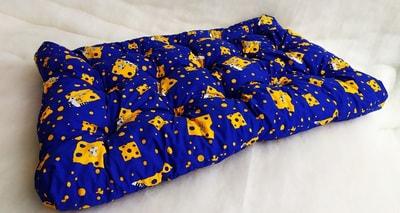 Бобровый дворик Матрас для собак уДачный Синие кошки (фото)
