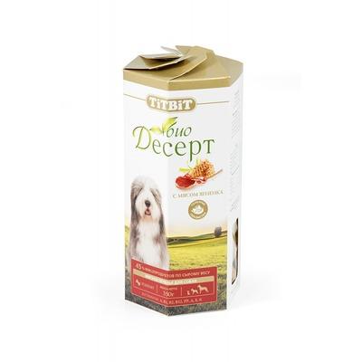 TiTBiT Печенье для собак Био-Десерт с мясом ягненка (фото)