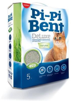 Наполнитель Pi-Pi Bent DeLuxe Fresh grass для кошек комкующийся