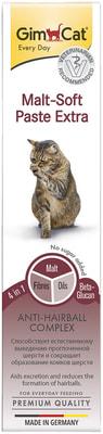 Gimpet Паста для кошек для вывода шерсти из желудка Malt-Soft-Extra