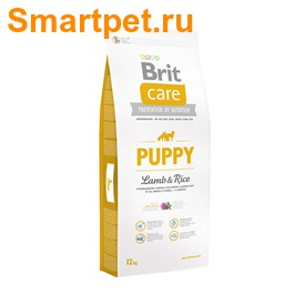 Brit Care Puppy All Breed Lamb & Rice для щенков всех пород с ягненком (фото)